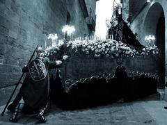La casa dels Gegants de Lleida acull l'exposició  Una altra mirada a la Setmana Santa de Lleida un recull d'imatges del fotoperiodista Santi Iglesias