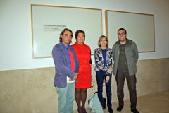 La Panera i la Facultat de Ciències de l'Educació inauguren Jordi Colomer i presenten el projecte audiovisual X-Ville