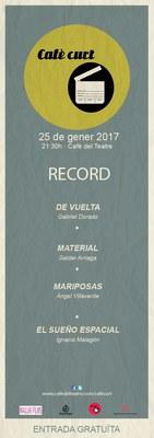 """Aquest dimecres el  """"Cafè Curt"""" ens presenta """"Records"""""""