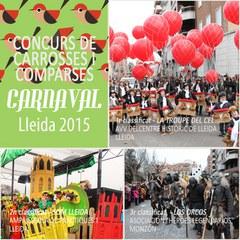 LA TROUPE DEL CEL guanyadora del 3r Concurs de Carrosses i Comparses del Carnaval 2015