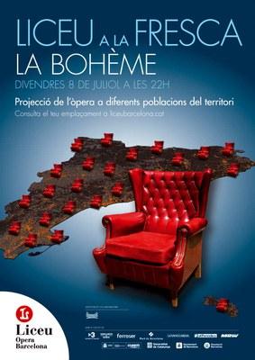 Lleida acollirà aquest divendres 8 de juliol la retransmissió en directe de l'òpera 'La bohème'de G. Puccini