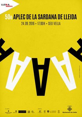 Lleida celebra el 50è Aplec de la Sardana de Lleida