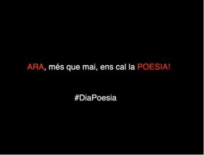 Lleida celebra el Dia Mundial de la Poesia