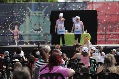 Lleida continua de festa amb activitats infantis i formacions de Ponent