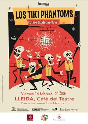 LOS TIKI PHANTOMS + Violet Mistake avui al Cafè del Teatre