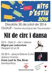 Nit de circ i dansa aquest dissabte a la plaça Esteve Cuito i al Teatre municipal de l'Escorxador