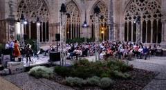 Nits de Lluna Plena al Claustre amb el jazz de Joana Cebolla Quartet