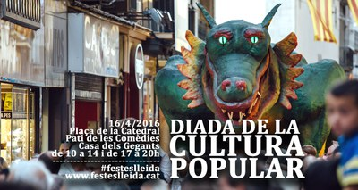 Nova edició de la Diada de la Cultura Popular a Lleida