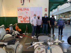 Nova peça del trimestre al Roda Roda: 75 anys de Vespa