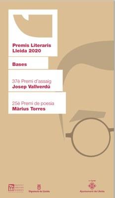 Oberta la convocatòria dels Premis Literaris 2020