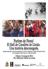 """Parlem de Festa!: """"El Ball de Cavallets de Lleida. Una història desconeguda"""""""