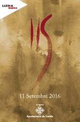 Programa activitats de la Diada Nacional de Catalunya 2016