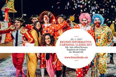 Reunió preparatòria del Carnaval 2017