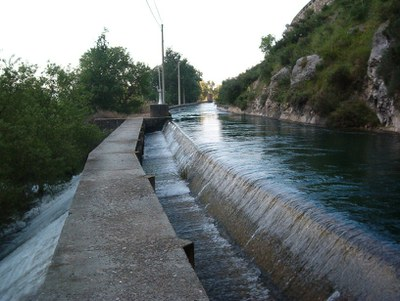 SABIES QUÈ...? El canal de Pinyana és el canal de regadiu més antic de Catalunya en funcionament.