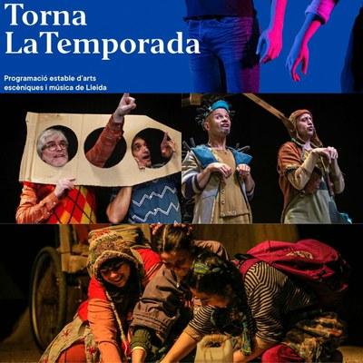 Tres espectacles de la programació de LaTemporada Lleida, finalistes al millor espectacle familiar dels Premis de la Crítica 2020