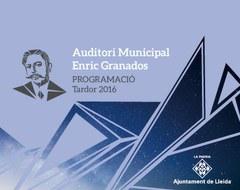 Un total de 24 concerts programats a la tardor a  l'Auditori Municipal Enric Granados
