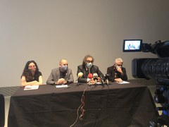 Una selecció de peces de la col·lecció 'Censored' de Tatxo Benet s'exposa al públic per primera vegada a Lleida