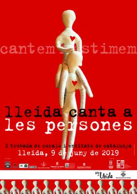 """Xè aniversari de Lleida Canta """"Lleida canta a les persones"""""""
