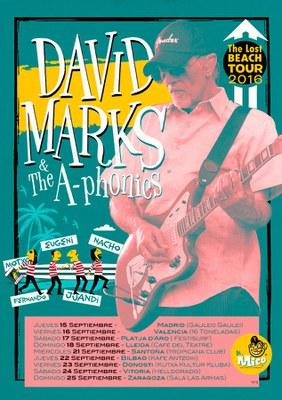 XX MERCAT DE LA MÚSICA: DAVID MARKS (Beach Boys) & THE A-PHONICS