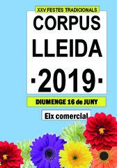 XXV FESTES TRADICIONALS CORPUS LLEIDA