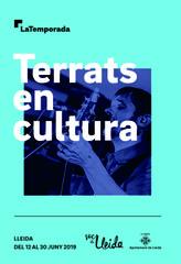 """Lleida presenta por primera vez """"Terrats en Cultura"""" del 12 al 30 de junio"""