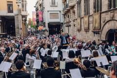 Parc de Somriures, danza urbana, el concierto de la Banda municipal, el Pregó ofical, Castell de Focs ...