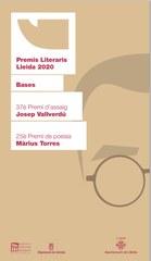 Abierta la convocatoria de los Premios Literarios 2020