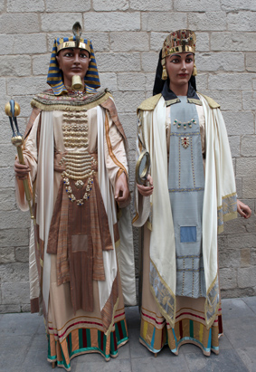 gegants faraons