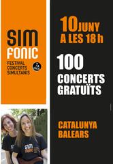 7ena edició de SIMFONIC – Festival 100 concerts simultanis
