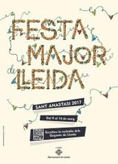 Antoni Abad, un dels artistes lleidatans més internacionals, autor del cartell de la Festa Major 2017