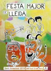 Avui s'ha presentat en roda de premsa la programació de la Festa Major de Lleida Sant Anastasi 2018