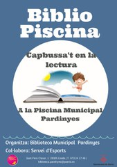 BIBLIOPISCINA a la Piscina Municipal de Pardinyes