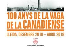 Celebració dels 100 anys de la vaga de la Canadenca a Lleida