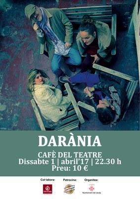 DARÀNIA AL CAFÈ DEL TEATRE