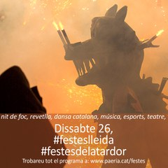 Dissabte 26 de setembre - Festes de la Tardor-