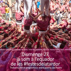 Diumenge 27 de setembre - Festes de la Tardor -
