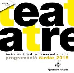 El Teatre Municipal de l'Escorxador presenta Temporada i posa a la venda les entrades per a tots els espectacles fins al desembre