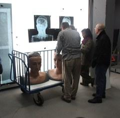 Els Gegants Romans segueixen el seu procés de Restauració.
