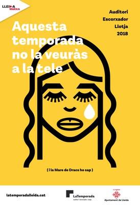 Entrades a la venda per als espectacles de tardor de LaTemporada d'arts escèniques  i música de Lleida