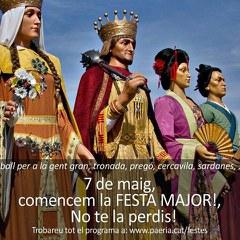 Inici de la Festa Major de Lleida amb la Tronada i el Pregó