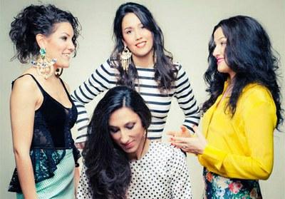 LAS MIGAS, quartet femení de flamenco i músiques mediterrànies al Cafè del Teatre