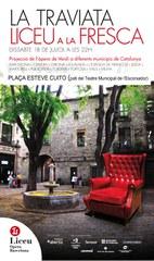 """Nits d'estiu us ofereix """"Liceu a la fresca"""" a la plaça Esteve Cuito (pati del Teatre Escorxador)"""