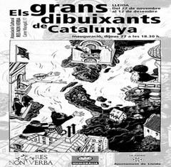 """Sala d'Exposicions de l'Associació Res Non Verba acull l'exposició """"Els grans dibuixants de Catalunya"""""""