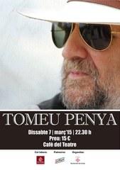 Tomeu Penya porta el seu rock i country al Cafè del Teatre