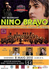 """Tot recordant a Nino Bravo"" a l'Auditori Municipal Enric Granados"