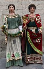 Vine a rebre els Gegants Romans!